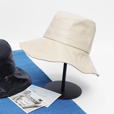 남자 여자 스트릿 20대 레더 벙거지 버킷 모자