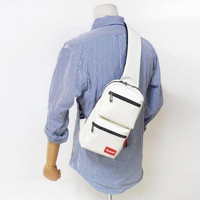 [1+1] 남성 여성 4컬러 포켓 스포츠 보조가방 슈프림 슬링백
