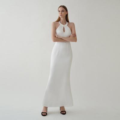여성 스판 민소매 나시 파티룩 셀럽 드레스 롱원피스