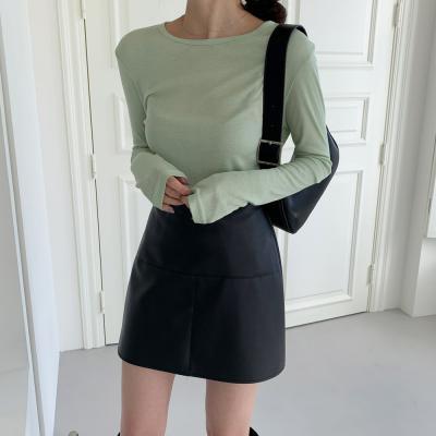 [1+1] 여자 스웨터 핸드워머 이너 골지 티셔츠