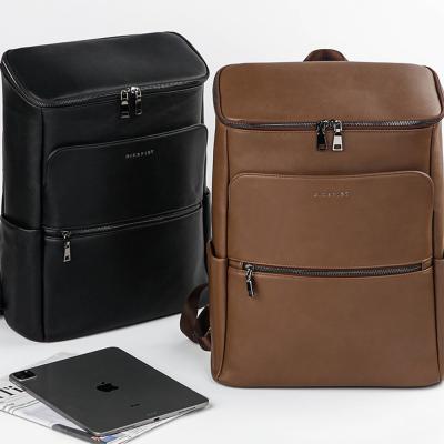 남자 여자 사각 여행 비즈니스 깔끔한 무지 백팩 가방