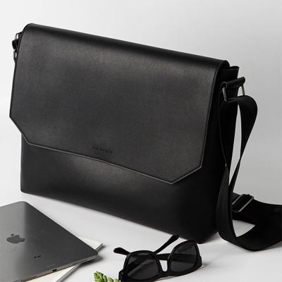남자 여자 스냅 솔리드 서류 직장인 크로스백 가방