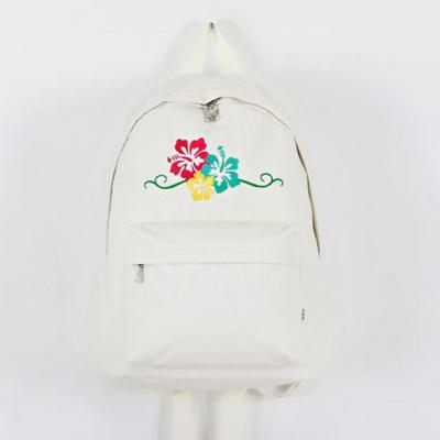 여성 남성 캐주얼 무궁화 꽃자수 스트릿 학생 가방 백팩