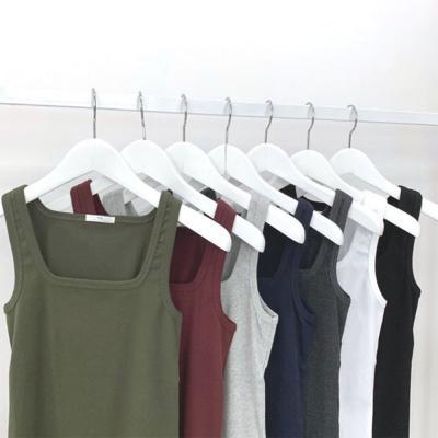 [1+1] 남자 이너 스판 레이어드 기본 사각 나시 티셔츠
