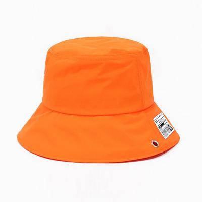 남자 여자 스트릿 바코드 라벨 폴리 버킷햇 모자