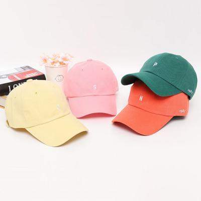 남자 여자 바캉스 미니 이니셜 1987 볼캡 야구 모자