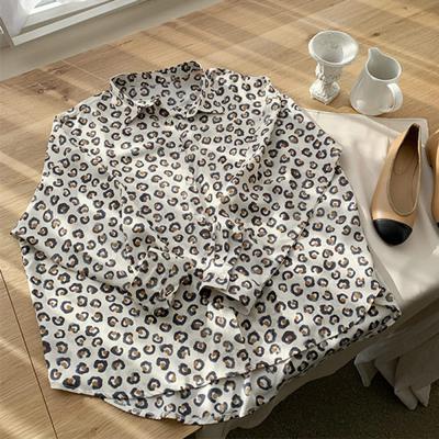 여자 패턴 포인트 언발 데일리 셔츠