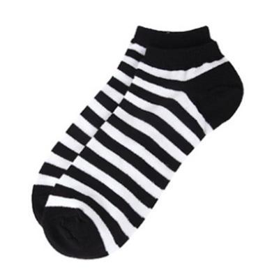 [1+1] 남자 데일리 줄무늬 발목 묶음 양말