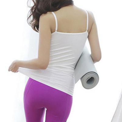 여자 끈조절 왕뽕 캡 슬림핏 베이직 나시 티셔츠