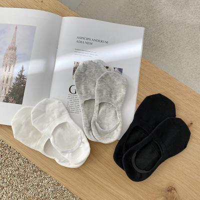 남자 쫀쫀 스판 솔리드 민무늬 단색 덧신 발목 양말