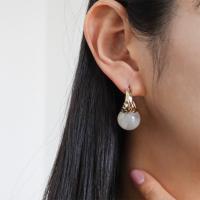 여자 청순 클래식 호마이카 데일리 링 귀걸이