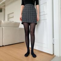 여자 캐주얼 데일리룩 유니크 패턴 세트 스타킹