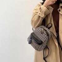 여자 하운드투스 지도리 트위드 가방 미니 백팩