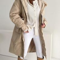 여자 오리털 엉덩이커버 루즈핏 퍼카라 패딩점퍼
