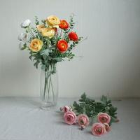 고급 라넌큘러스 조화꽃장식(5color)