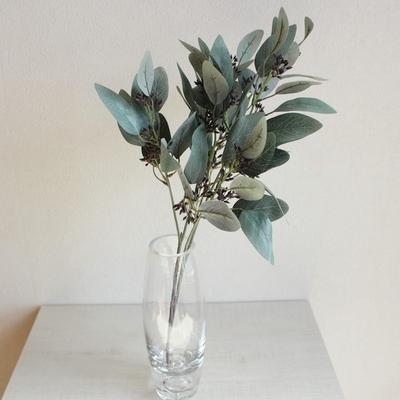 기다란 잎 유칼립투스 부쉬 인테리어 조화(2color)
