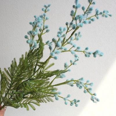 미모사가지 조화꽃장식(3color)