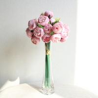 데이비드 오스틴 영국장미 인테리어 조화꽃부케(4color)