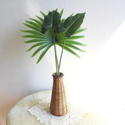 트로피컬 트윈 안시리움 조화잎장식