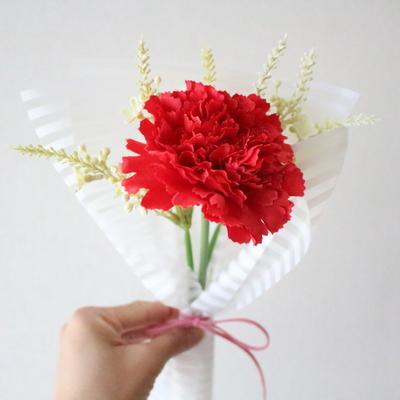 어버이날 스승의날 한송이 카네이션 조화꽃다발