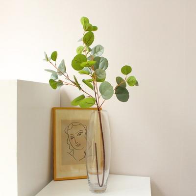 둥근잎 유칼립투스 그린인테리어 조화가지(2color)