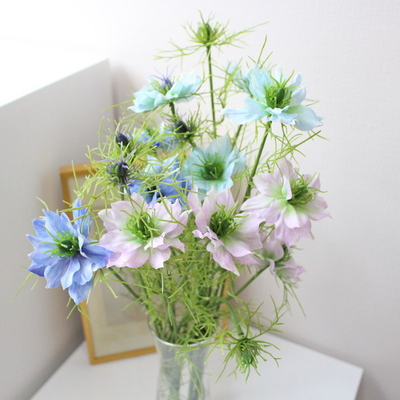 니겔라 인테리어 조화꽃장식(3color)