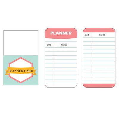 페이퍼 카드와 포켓 3종세트
