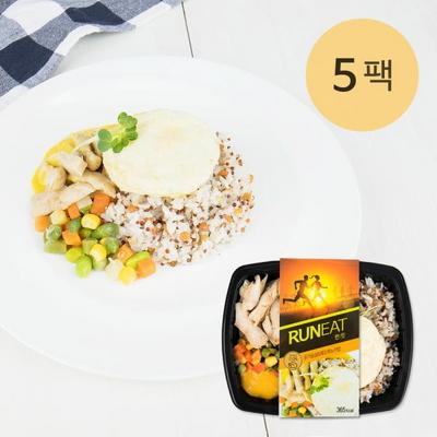 런잇 닭가슴살&레드퀴노아밥 5팩