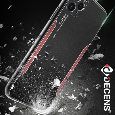 데켄스 아이폰XR케이스 메탈 캠 프로텍션 하드 케이스 M711