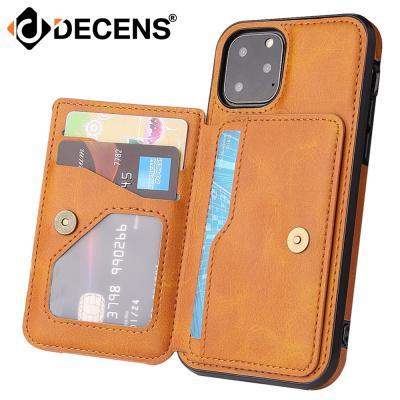 데켄스 아이폰12프로 아이폰12 카드 포켓 가죽 케이스 M745