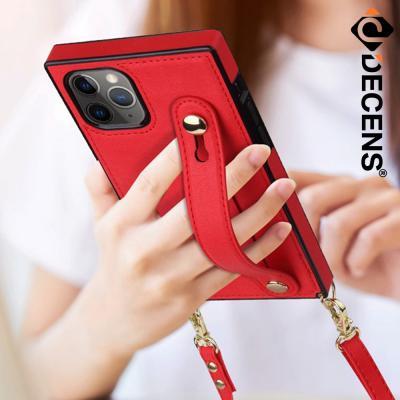 데켄스 아이폰12프로맥스 베리어스 스트랩 포켓 케이스 M766