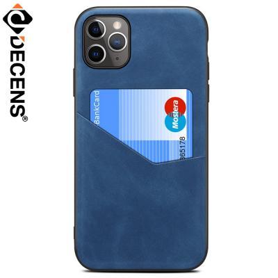 데켄스 아이폰12프로 아이폰12 가죽 카드 포켓 케이스 M742