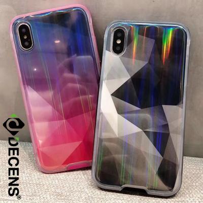 데켄스 아이폰8플러스케이스 그라데이션 홀로그램 케이스 M559