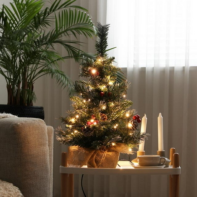 비솜 - 크리스마스 미니스노우트리 60cm 풀세트
