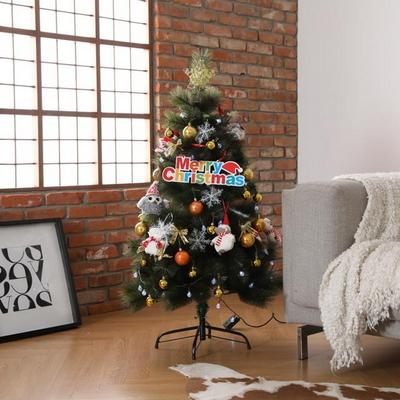 비솜 - 크리스마스 고급 파인트리 120cm 풀세트