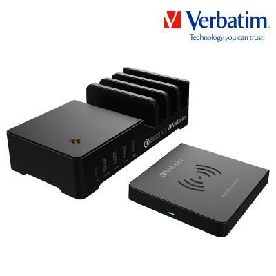 버바팀 55W 5포트 PD 3.0 + QC 3.0 + Qi 무선충전기