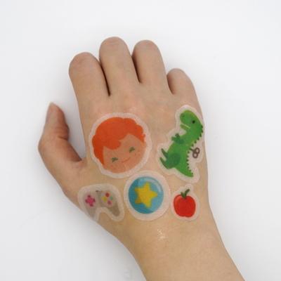 어린이화장품 스티커 마스크팩_캐빈