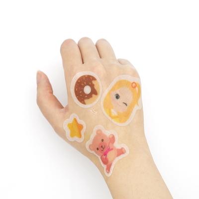 어린이화장품 스티커 마스크팩_엘리