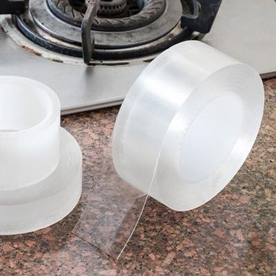 주방 틈새 막이 방수 투명 실리콘 테이프 3m (3cm)