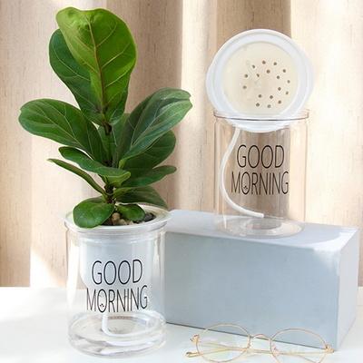 좋은아침 자동 급수 플라스틱 화분