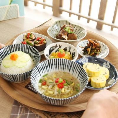 일본식기 하나쿠사 반상세트