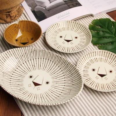 일본식기 피카부 라이온 혼밥세트