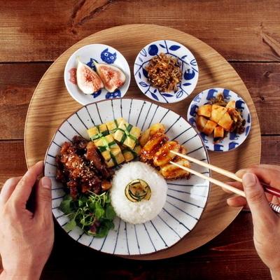 일본식기 혼밥세트 반상세트 로투스