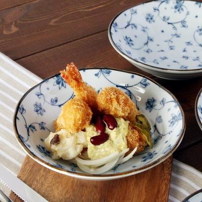 일본식기 키노메 볼접시 16cm