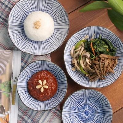일본식기 하나모노 찬기 14cm