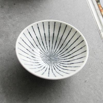 일본식기 쿠로센 종지 10cm