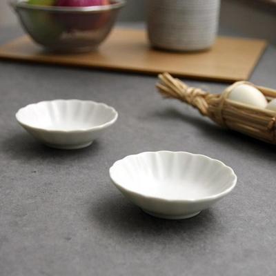 일본식기 파스텔 웨이브 미니접시 10cm