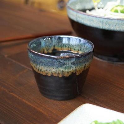 블랙오션 도자기컵