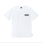 18SS Unisex 박스 로고 반팔 티셔츠 WHITE - IN8STS011