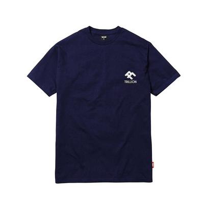 18SS Unisex 스퀘어 로고 반팔 티셔츠 NAVY - IN8STS010